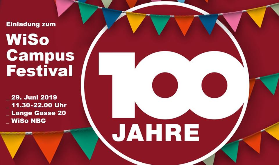 "Zum Artikel ""WiSo Celebrates Its 100th Anniversary with the Campus Festival!"""
