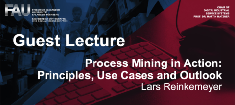 "Zum Artikel ""Gastvortrag mit Lars Reinkemeyer: ""Process Mining in Action: Principles, Use Cases and Outlook"""""